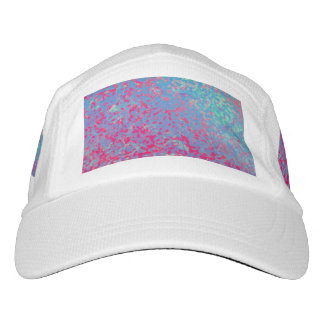 Performance Hat Colorful Corroded Background