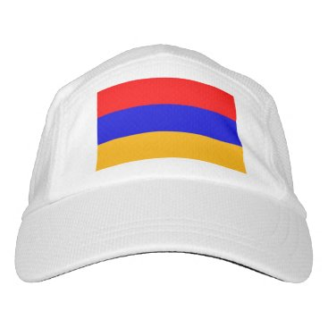 Performance Hat with flag of Armenia