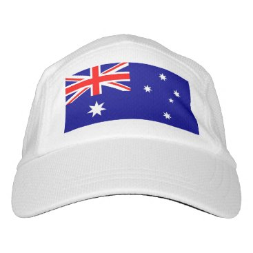 Performance Hat with flag of Australia