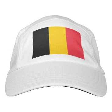 Performance Hat with flag of Belgium