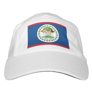 Performance Hat with flag of Belize