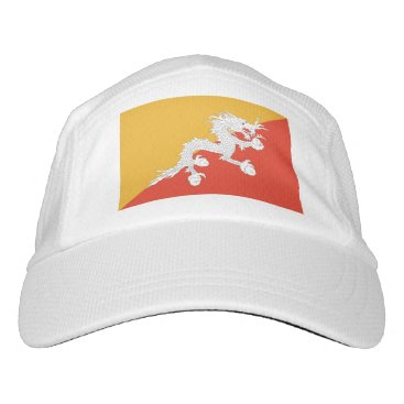 Performance Hat with flag of Bhutan