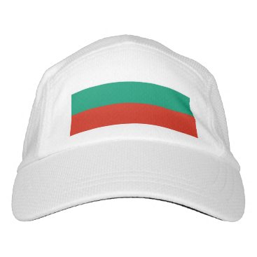 Performance Hat with flag of Bulgaria