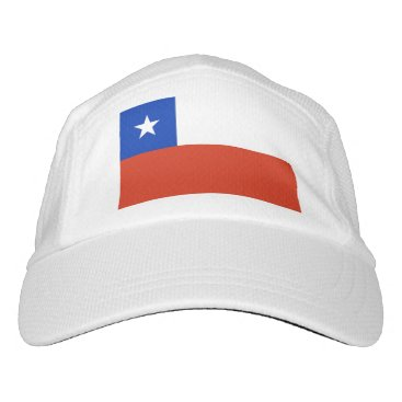 Performance Hat with flag of Chile