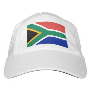 Performance Hat with flag of South Africa 0fc665f0b2c