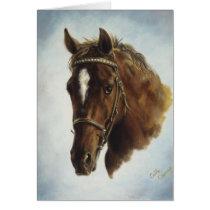 Performance Horse Card