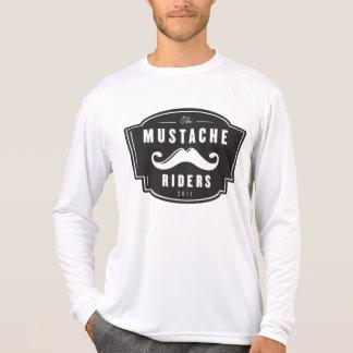 Performance Microfiber Mustache Rider Long Sleeve T-Shirt