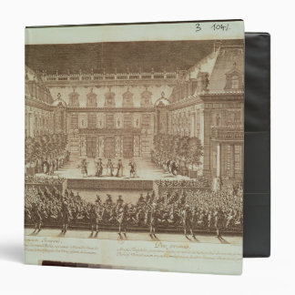 Performance of the opera 'Alceste' 3 Ring Binder
