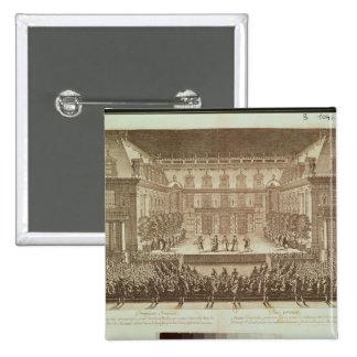 Performance of the opera 'Alceste' Pinback Button