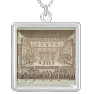 Performance of the opera 'Alceste' Silver Plated Necklace