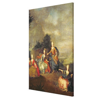 Performance of the opera by Gluck Canvas Prints