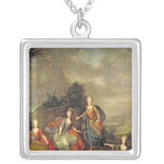 Performance of the opera by Gluck Silver Plated Necklace