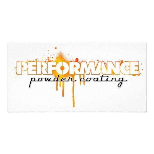 performance powdercoating photo cards