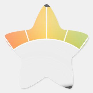 Performance Star Sticker