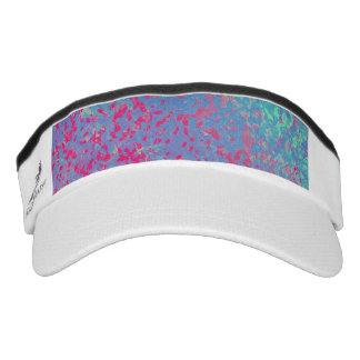 Performance Visor Colorful Corroded Background