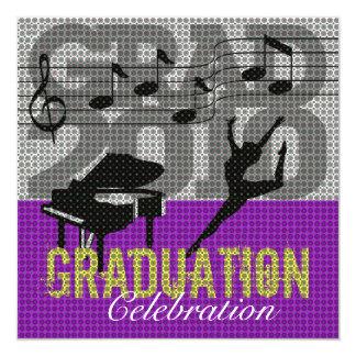 Performing Arts Graduation Party 1 Invitation