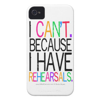 Performing Arts Humor iPhone4/4S Case