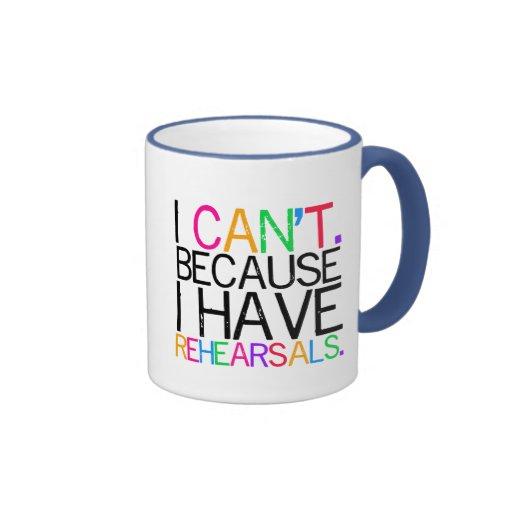 Performing Arts Humor Mug (customizable)