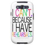 Performing Arts Humor Samsung Galaxy Case Samsung Galaxy SIII Case