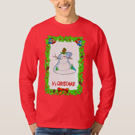 Performing snowman T-Shirt