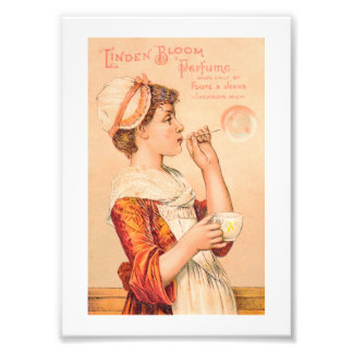 Perfume 1893 de la floración del tilo impresión fotográfica