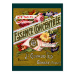 Perfume 1915 del francés de Concentree de la esenc Postales