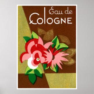 Perfume 1920 de agua de colonia impresiones