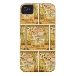 Perfume 1920 del DES Fleurs de Principe iPhone 4 Funda