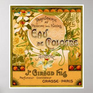 Perfume 1920 del DES Fleurs de Principe Poster