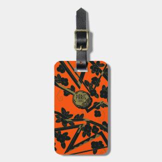 Perfume 1925 de París Francia del art déco Etiquetas De Equipaje