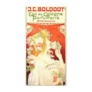 Perfume Ad 1897 Canvas Print