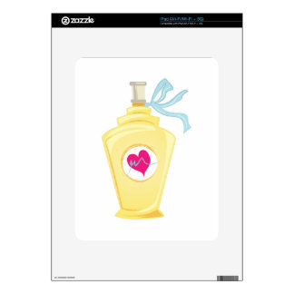 Perfume Bottle Decals For iPad