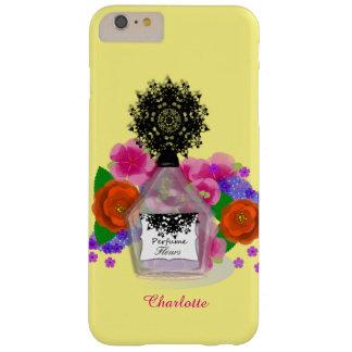 Perfume Bottle Flowers Feminine Elegant Barely There iPhone 6 Plus Case