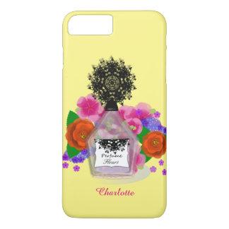 Perfume Bottle Flowers Feminine Elegant iPhone 7 Plus Case