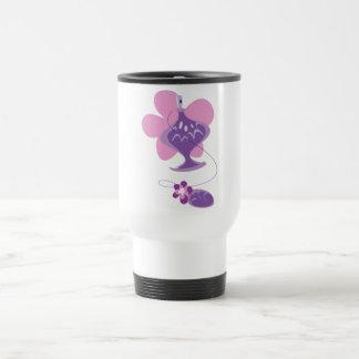 Perfume Bottle in Pink and Purple Travel Mug