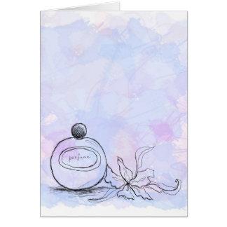 Perfume Greeting Cards