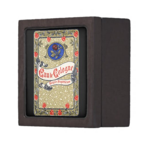 Perfume de agua de colonia de 1925 superiores caja de regalo de calidad