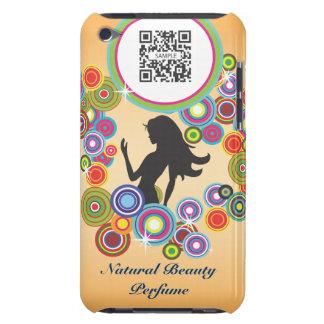 perfume de la plantilla del caso del tacto de iPod Carcasa Para iPod