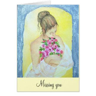 perfume, faltándole tarjeta de felicitación