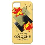 Perfume floral francés 1920 iPhone 5 coberturas