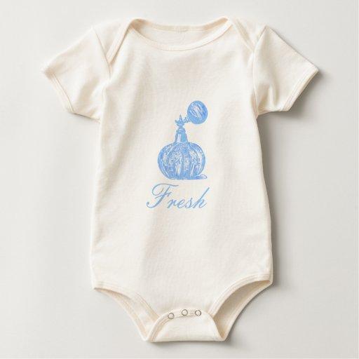 Perfume fresco traje de bebé