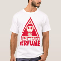Perfume Gasmask (One-Sided) T-Shirt