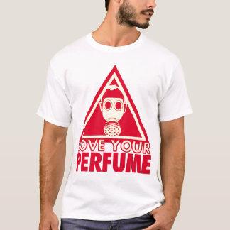 Perfume Gasmask (One-Sided) T-Shirt