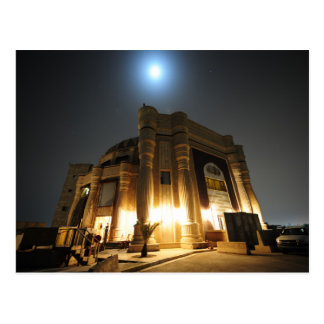 Perfume Palace at Night - Free Mail Postcard