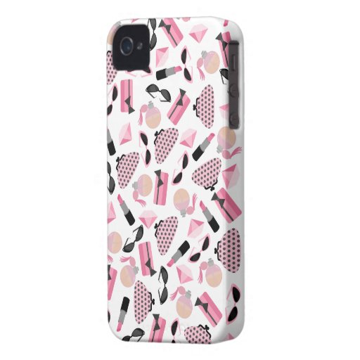 Perfume & Purses iPhone 4  Case-Mate Barely There™ iPhone 4 Case-Mate Cases