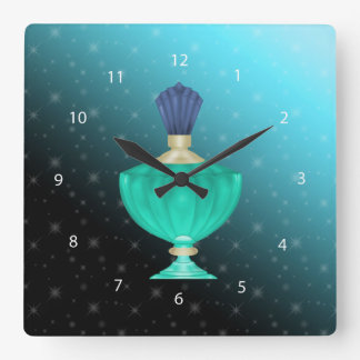 Perfume Reloj Cuadrado