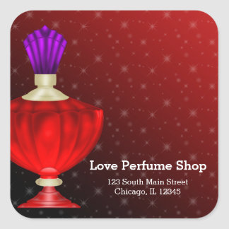 Perfume Square Sticker
