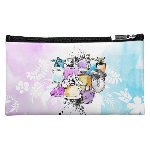 Perfumes art cosmetic bag