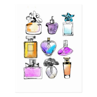 Perfumes Art Tarjeta Postal