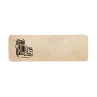 Pergamino del Musical del tocadiscos del fonógrafo Etiquetas De Remite